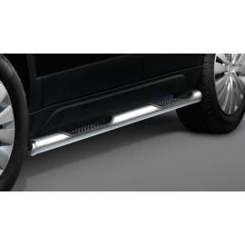Boční rám s nášlapem, nerezová ocel Ø 60 mm pro Suzuki SX4 S-Cross