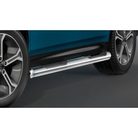 Boční rám s nášlapem, nerezová ocel Ø 80 mm pro Suzuki Vitara