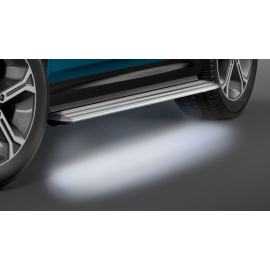 Hliníkové schody s LED osvětlením pro Suzuki Vitara